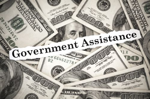 Dollars Labelled Government Assistance for Public Charges